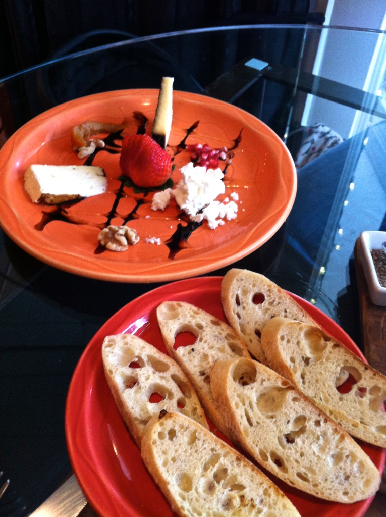 Avenues Bistro Cheese Plate