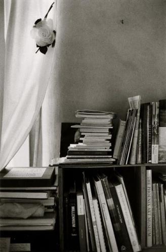 John Loengard_Georgia O'Keeffe's Library