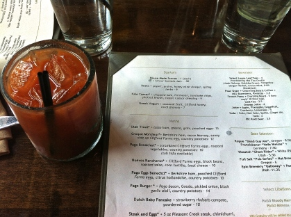 Pago Bloody Mary Brunch