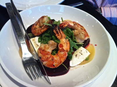 Vivace Shrimp Appetizer