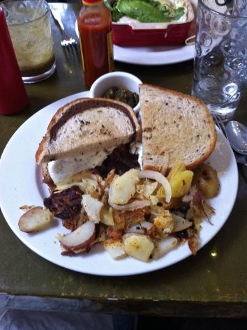 Peeto Breakfast Sandwich
