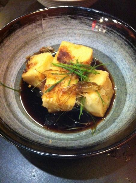 Kobe Sushi Agadashi Tofu