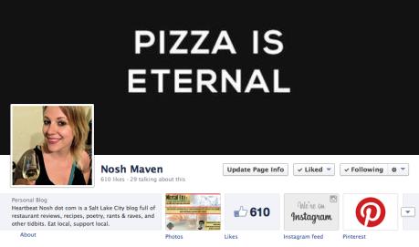 NoshMaven Facebook