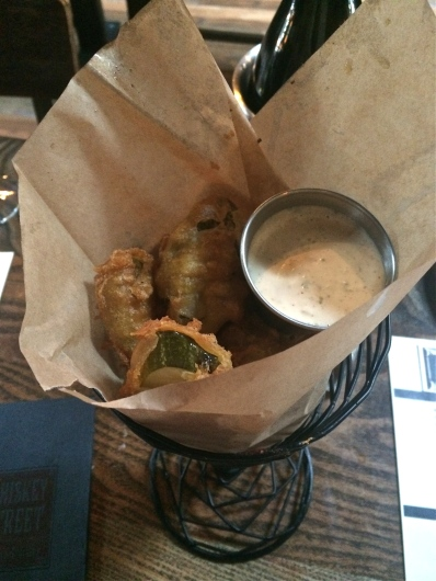 Whiskey Street Fried Pickles