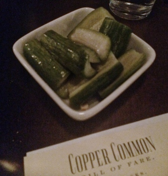 Copper Common House Pickles