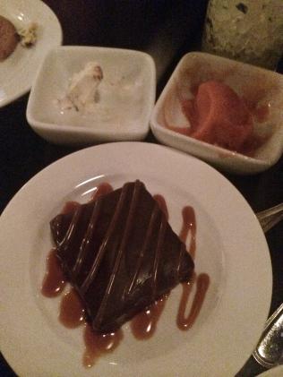 Copper Common Flourless Chocolate Torte