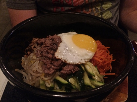 Beef and Tofu Bowl with Egg