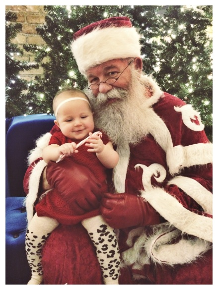 Trolley Santa