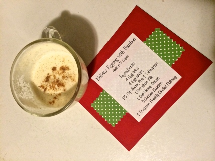 Holiday Homemade Eggnog Recipe
