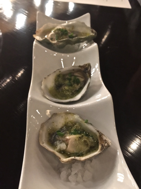 Current Grilled Oysters