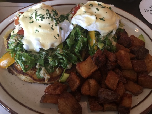Hub & Spoke Crab Salad Benedict