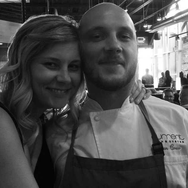 Hollie and brother, Chef Logen Crew!