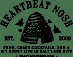 Heartbeat Nosh Black Logo