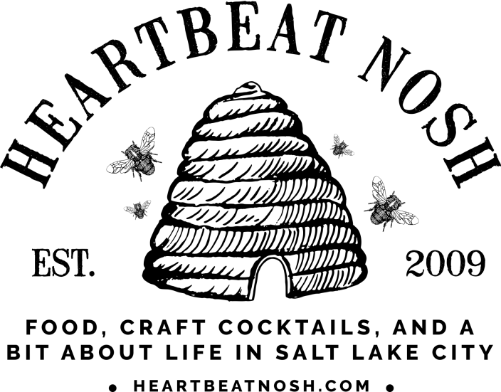 Heartbeat Nosh Black Logo