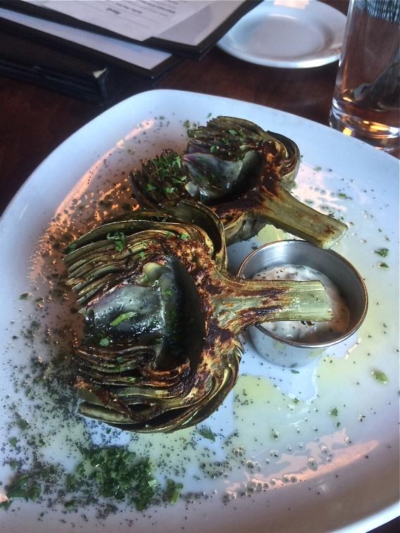Grilled Artichoke