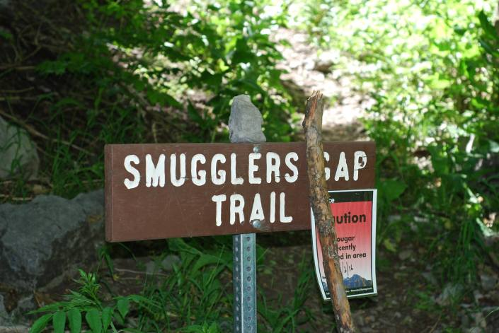 "Smugglers Trail: ""A mountain pass that was named because of a group of moonshiners that operated a still in City Creek Canyon during prohibition and smuggled moonshine to the military base at Fort Douglas."""