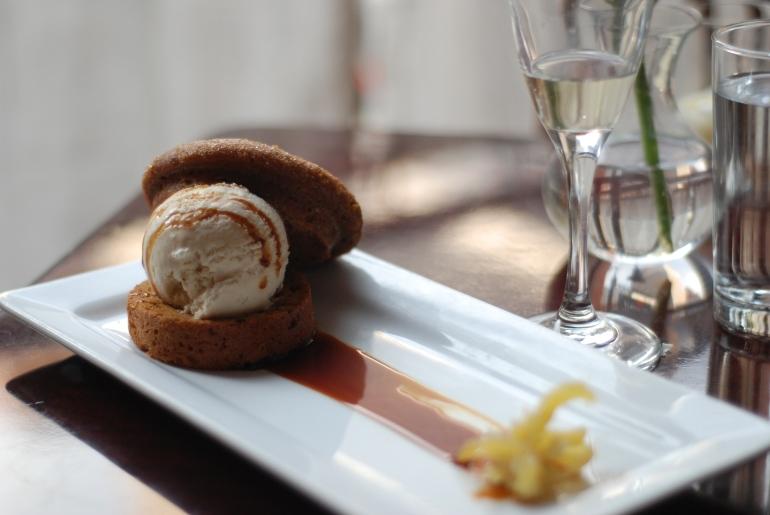 Ginger dessert