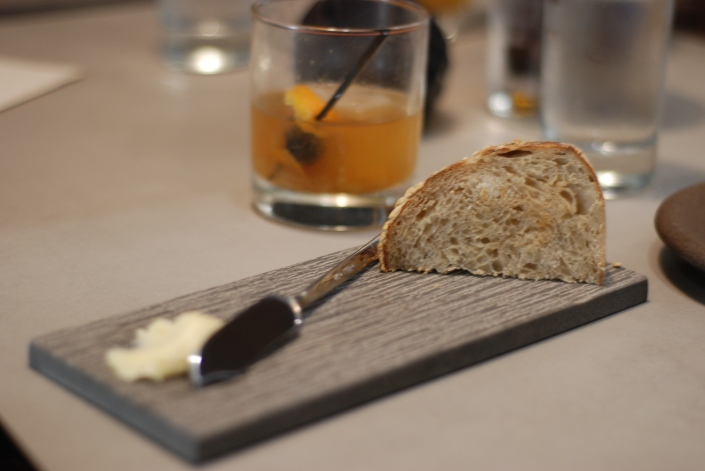 Homemade Sourdough Bread and Homemade Butter