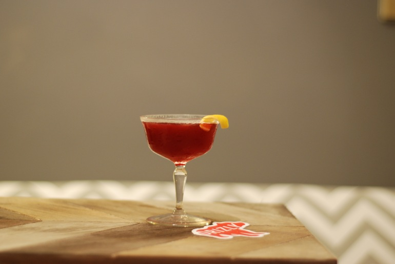 Dark and Rye Cocktail