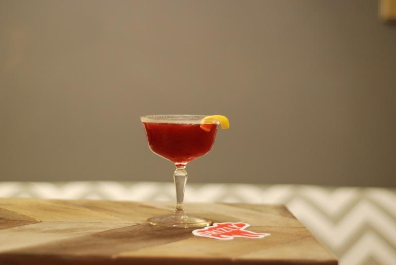 Dark and Rye Cocktail